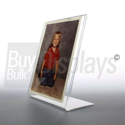 8 X 10 Clear Plastic Picture Frames