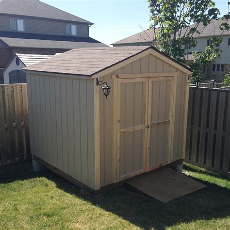 8 X 8 Shed