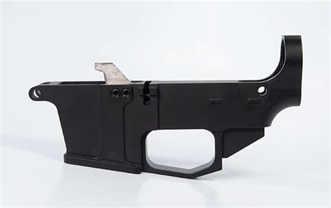 80 Ar-15 Lower Receiver - Black - Daytona Tactical.