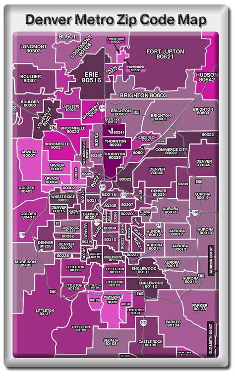 80202 Zip Code Map
