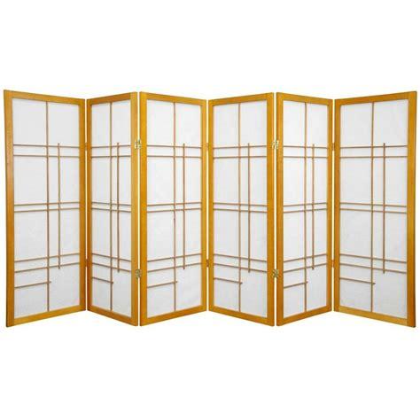83.5 x 86 Clarke Shoji 6 Panel Room Divider