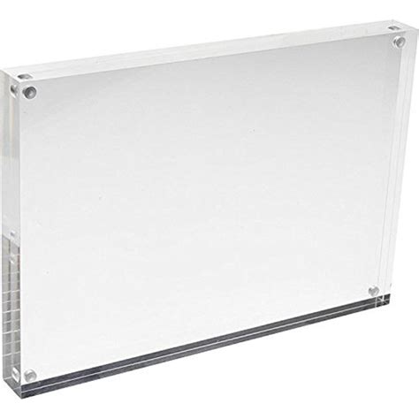 8x10 Acrylic Magnetic Picture Frames