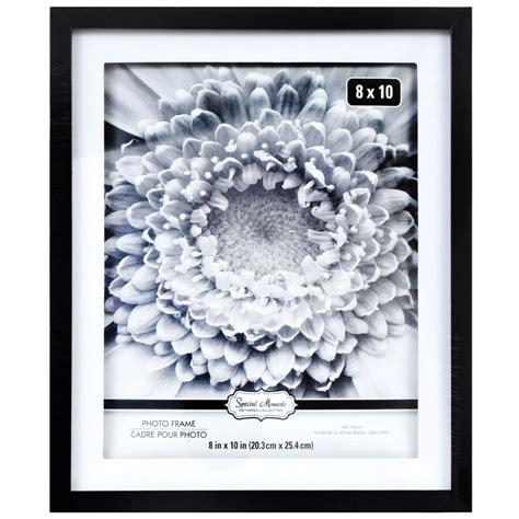 8x10 Black Plastic Picture Frames