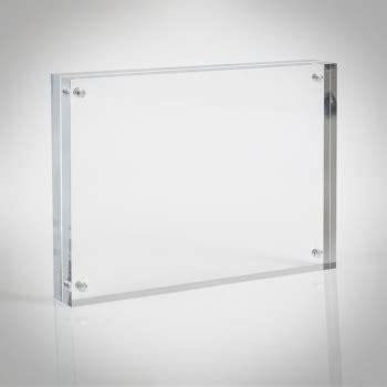 8x10 Clear Plastic Picture Frames