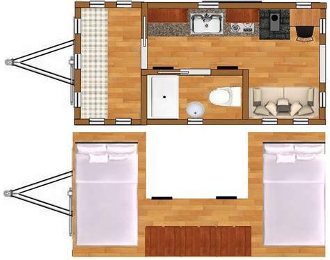 8x16 Tiny House Plans Free