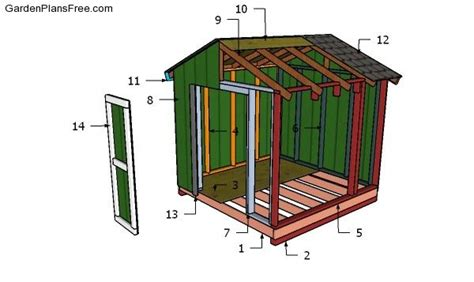 8x8 Shed Plans Free
