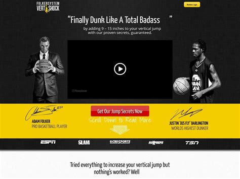 959 Vertical Jump Training Vert Shock Re Bill Upsell Insane.