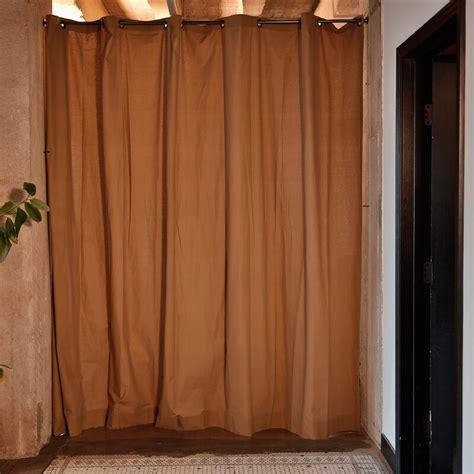 96 x 120 Muslin Single Panel Room Divider