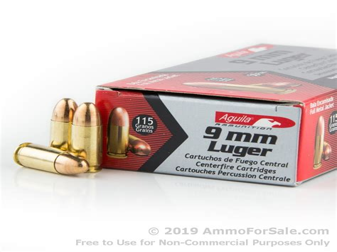 Ammunition 9mm Ammunition In Stock.