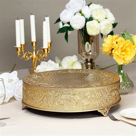 A B Home Entertaining Aluminum Pedestal Cake Plate From .