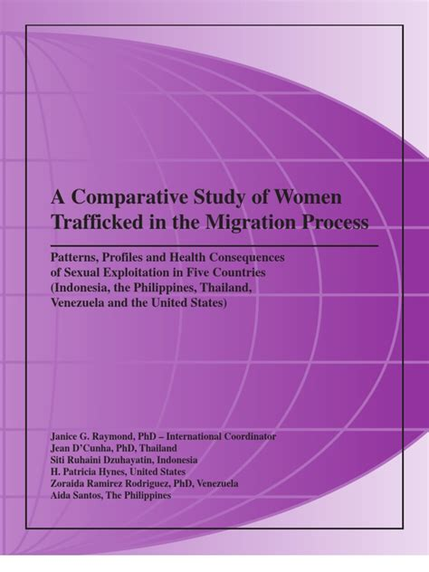 A Comparative Study Of Women Trafficked In The Migration Process.