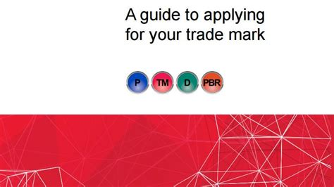 [pdf] A Guide To Applying For Your Trade Mark - Ip Australia.