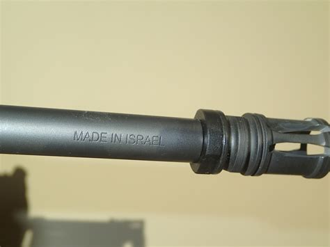 A Mark Of Quality On The Tavor S Barrel  Iwi Us .