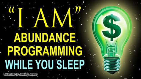 [click]abundance Affirmations While You Sleep Program Your Mind For Wealth  Prosperity Powerful .