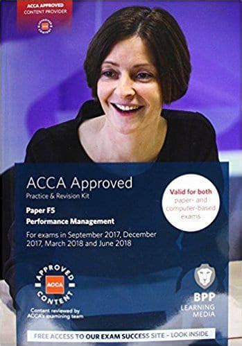 [pdf] Acca F5 Performance Management - Accountancytube Com.