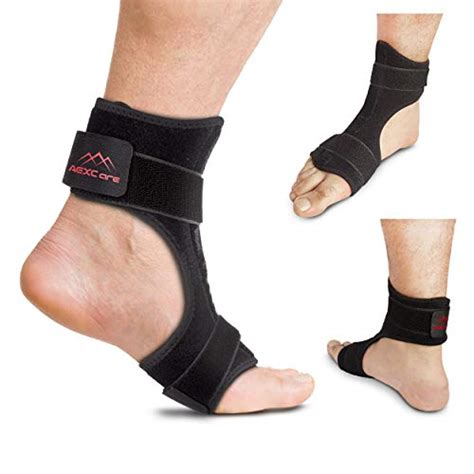 Aexcare Foot Brace Plantar Fasciitis Night / Day Splint, Injury.