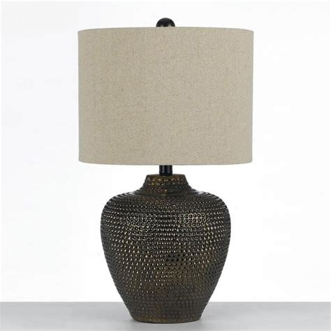 Af Lighting 8559-Tl Danbury Ceramic Table Lamp- Brown .