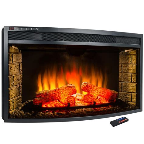 Akdy 33 In Freestanding Electric Fireplace Insert Heater .