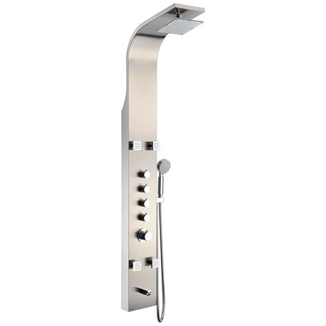 Anzzi Echo 63 5 In 4-Jetted Full Body Shower Panel System .