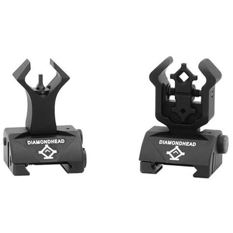 Ar-15 Ar15 Same Plane Flip Up Front Sight - Cheaper Than Dirt.