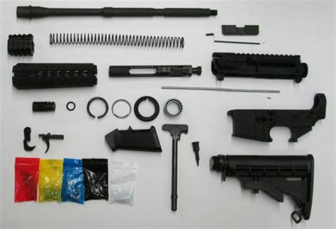 Ar-15 Complete Rifle Kit With Ar15 80 Lower - Daytona .