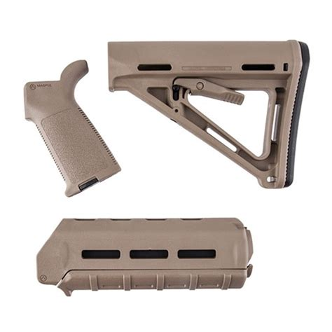Ar-15 Moe Furniture Set M-Lok Polymer Moe Furniture Set M .
