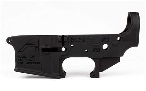 Ar15 Stripped Lower Receiver Gen 2 - Anodized Black .