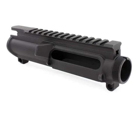 Ar15 Stripped Upper Receiver - Anodized Black  Aero .
