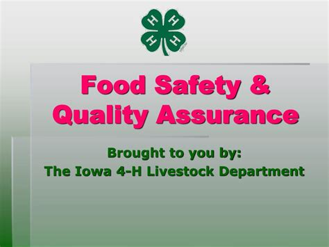[pdf] Assuring Food Safety And Quality.