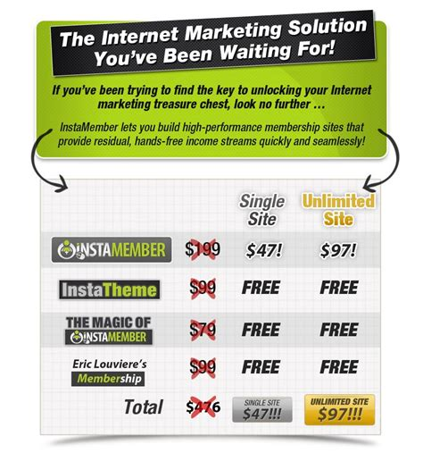 [click]about  Instamember   The Ultimate Wordpress Membership .