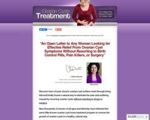 [click]about Ovarian Cysts Treatment  75  Contact Us For