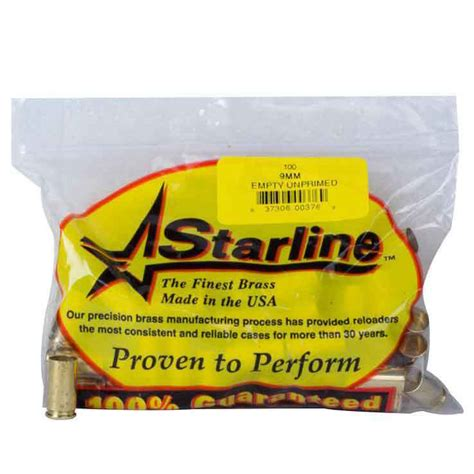 About Starline Brass  Rifle Handgun And Pistol Reloading .