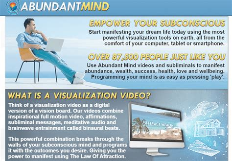 [click]abundant Mind  Visualization Videos For The Law Of .
