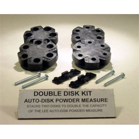 Accessories  Lee Precision Double Disk Kit.