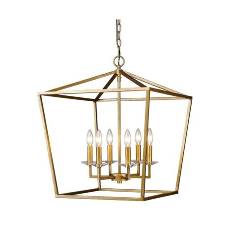 Acclaim Lighting In11130ag Kennedy Indoor 6-Light Pendant .