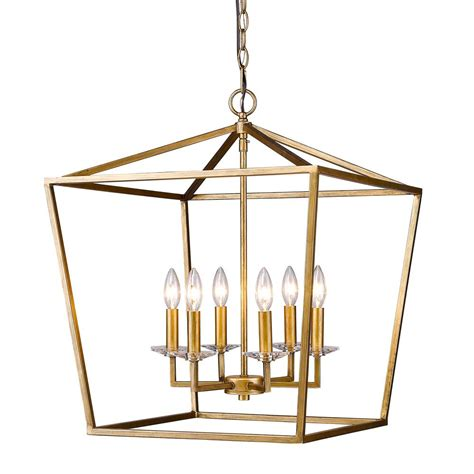 Acclaim Lighting Kennedy Antique Gold Six Light Chandelier .