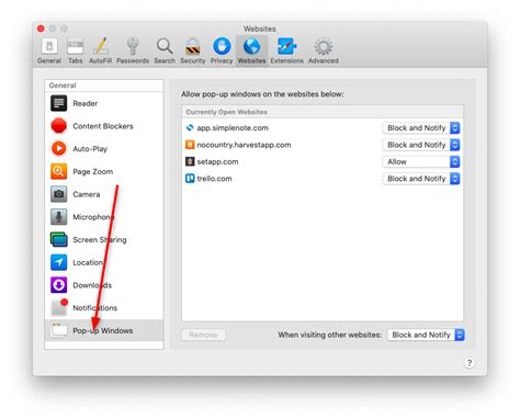 [pdf] Adjusting Pop-Up Blocker Settings In Safari On Mac Osx.