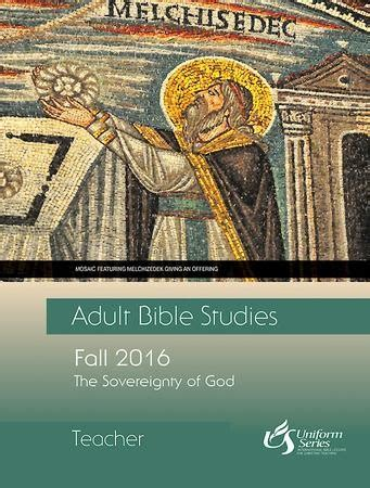 [pdf] Adult Bible Study Fall 2016 Sovereignty Of God Sunday .
