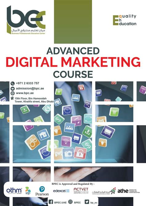 @ Advanced Online Marketing Certification Training Course .