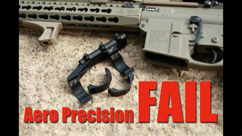 Aero Precision Ultra Light Scope Mount Fail And Review.