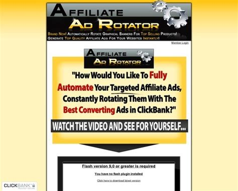 Affiliate Ad Rotator - Home Facebook.