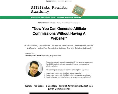 [click]affiliate Profits Academy - Blue1hosting.