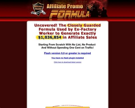 [click]affiliate Promo Formula - Vid O Dailymotion.