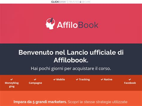 [click]affilobook Il Primo Corso Avanzato D Italia Sull Affiliate Marketing.