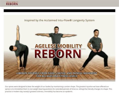 Ageless Mobility Reborn Well.