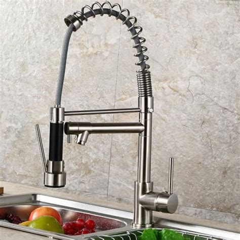 Aimadi Contemporary Kitchen Sink Faucet - Single Handle .