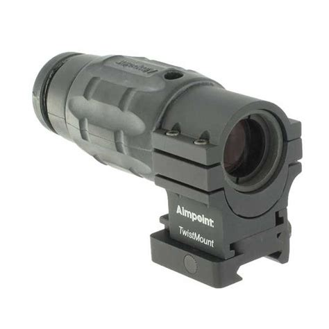 Aimpoint 3x Magnifier With Aimpoint Twist Mount.
