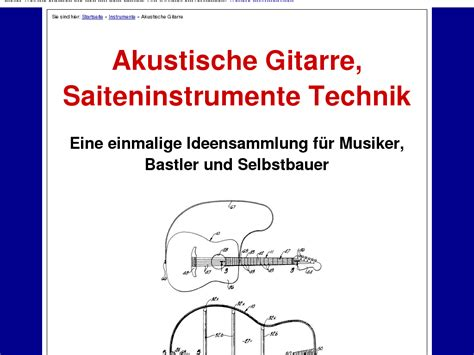 [click]akustische Gitarre  Saiteninstrumente Technik Sale Offer .
