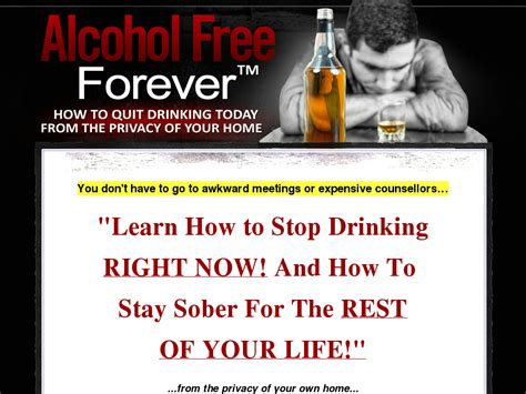 [click]alcohol Free Forever Tm - Revamped For 2017 75 Bonus .