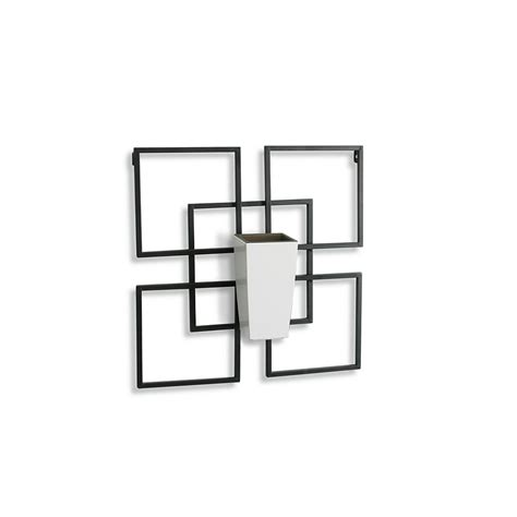 Algreen Products Vida1 Wall Art With White Self-Watering .